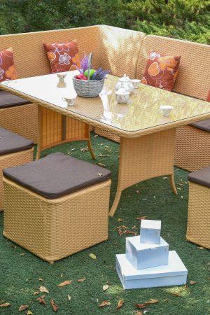 Мебель для кухни и сада из ротанга