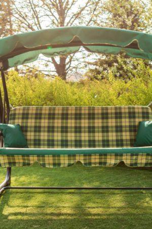 Садовая качеля Марсель с мягкими подушками