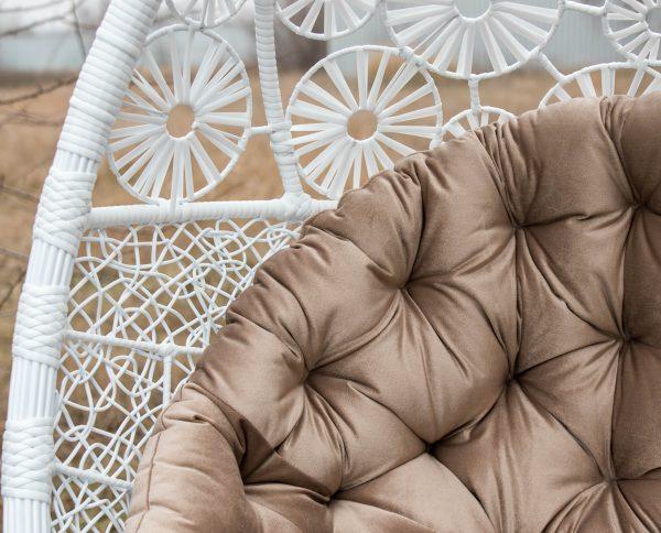 Велюровая подушка в подвесном кресле Прованс ЮМК