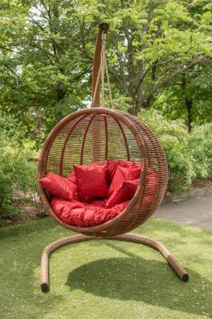 Элитное подвесное кресло Арена с подушками