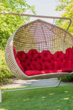 Большое кресло кокон Дабл Гранд Креслоротанг