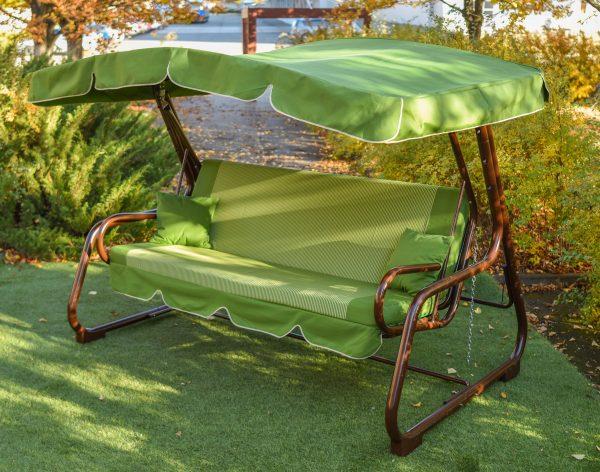 Украинские конструкции садовые качели ЮМК