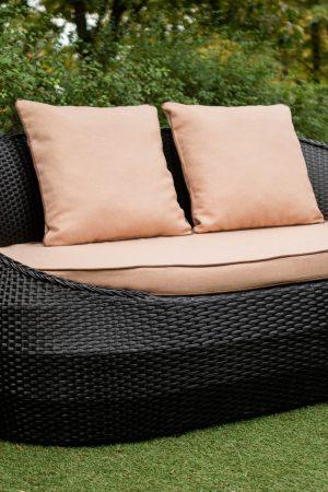 диван для кафе плетёный Украинские конструкции