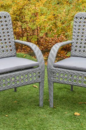 Садовое кресло от ЮМК из искусственного ротанга