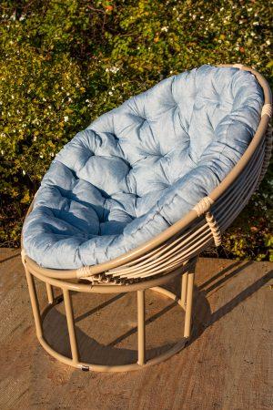кресло из металла папасан ЮМК