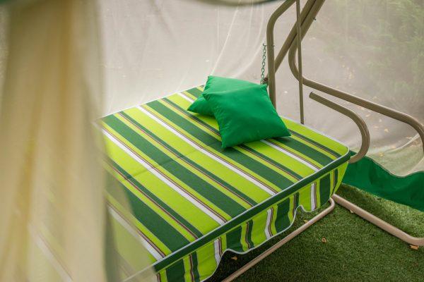 Качели Солярис мягкая часть с подушками
