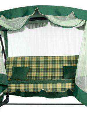 зелёные раскладные качели