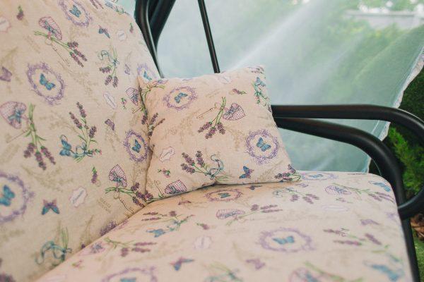 Качели Лаванда с мягкими сиденьями