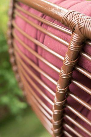 Плетение на садовой мебели