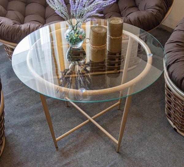 столик металлический икс