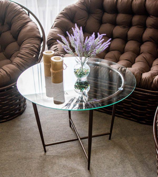 столик из металла Икс