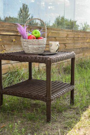 Столик кофейный для дачи и балкона