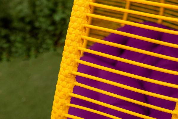 горизонт плетение ротанг на кресле подвесном