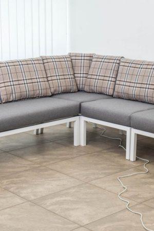 мебель из стали лофт белый