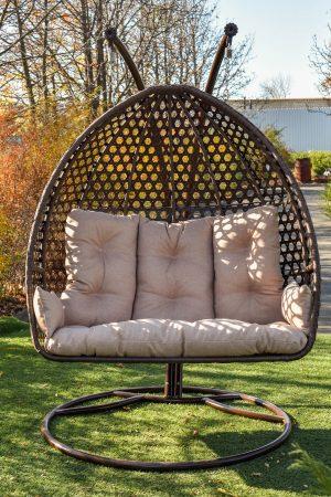 тройное подвесное кресло кокон ЮМК