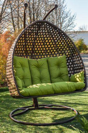 Кресло кокон садовые качели Дабл