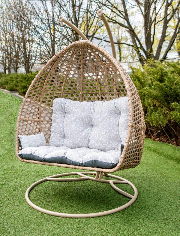 підвісне садове крісло качеля для саду