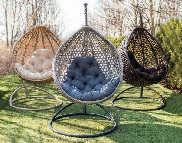 подвесные кресла коконы ЮМК Фабрика Асоль эко