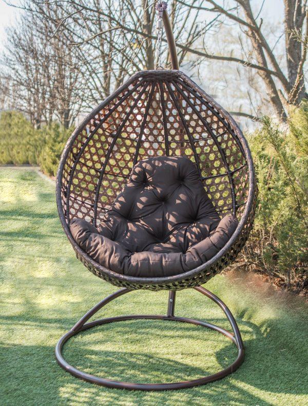 подвесные кресла Асоль эко в коричневом цвете