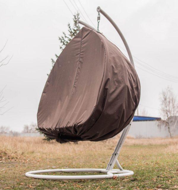Защита подвесного кресла от дождя и снега