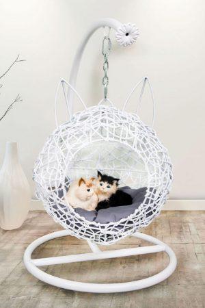 Кресло домик для кошек