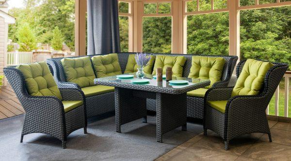 мебель Грегори плетёная искусственным ротангом