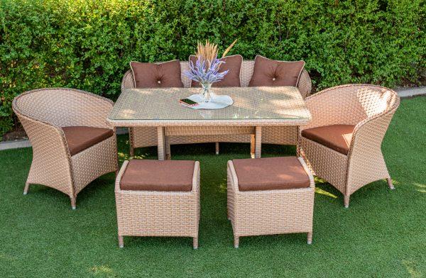 меблі для саду і баз відпочинку