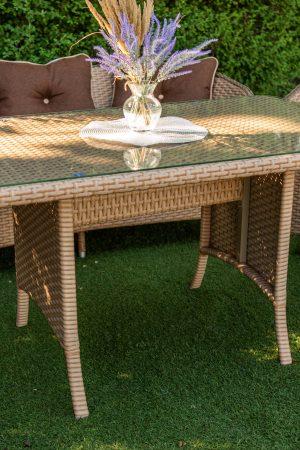 меблі з штучного ротангу для саду і дому