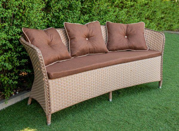 диван плетений з комплекту мебелі Констанція