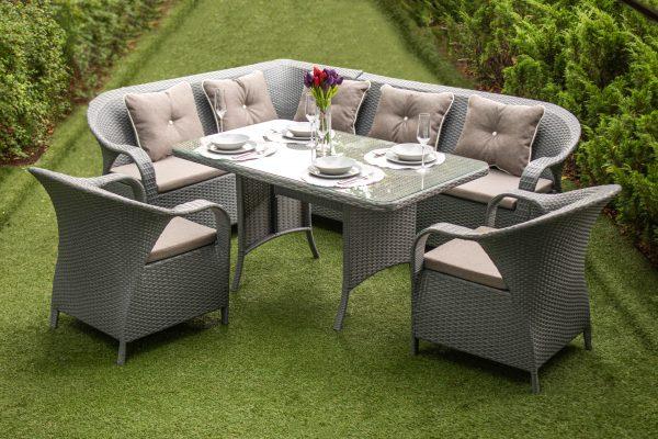 мебель для дома и сада Бали в сером цвете