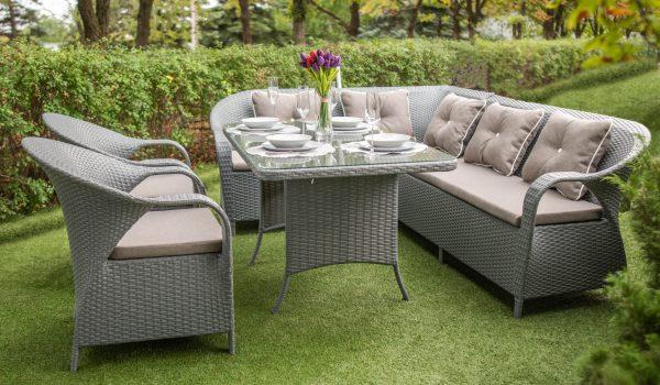 плетёный комплект мебели Бали ЮМК фмабрика Украинские конструкции