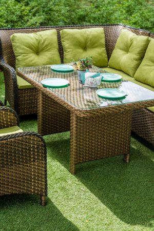 Комплект плетёной мебели из ротанга Грегори