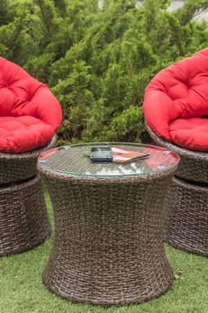 Комплект мебели Сфера искусственный ротанг