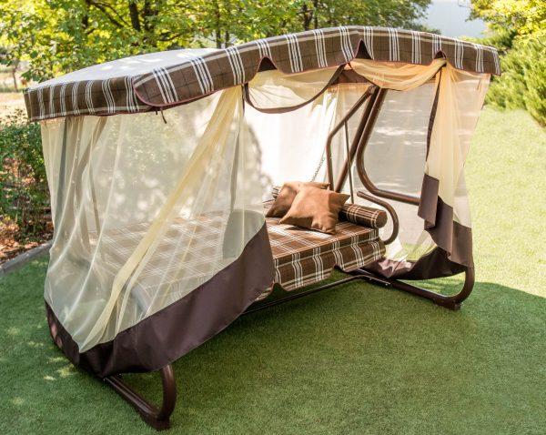 качели диван для отдыха в двоём