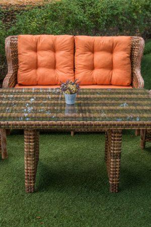 обеденный комплект мебель садовая Меланж