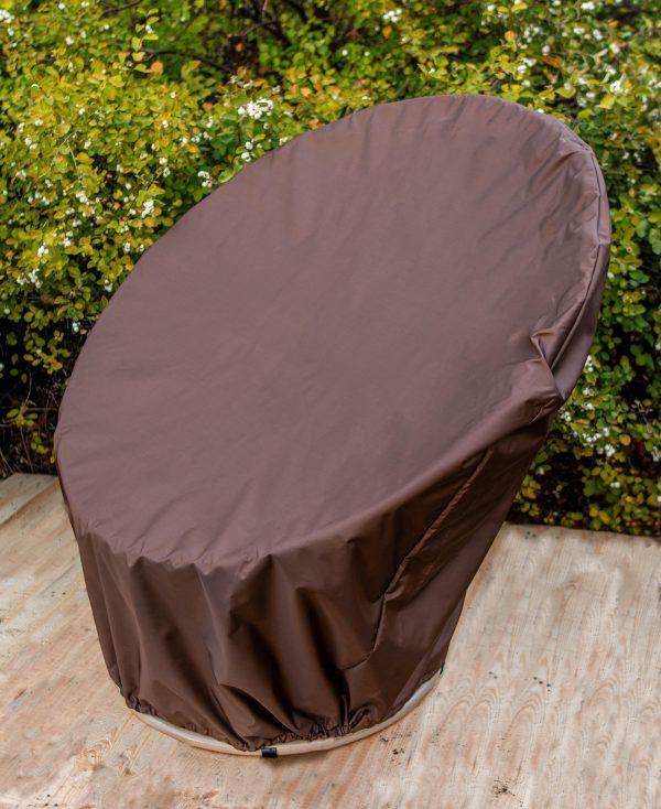 чехол из ткани для кресла