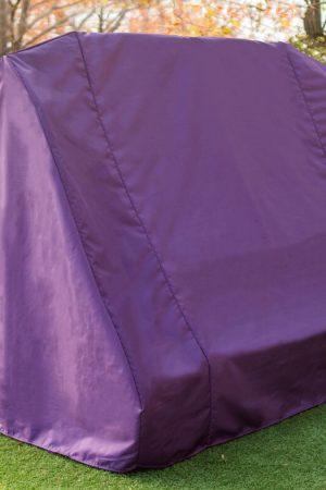 фиолетовый чехол садовой качели