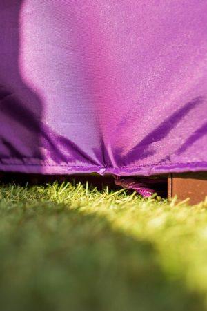 ткань чехла качели фиолет