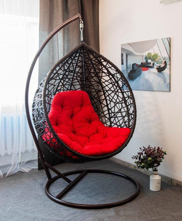АрВуд кресло кокон купить чёрное