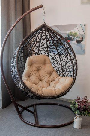 кресло кокон для дома Арт вуд