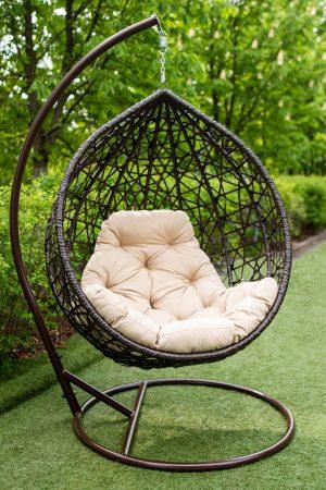 кресло подвесное качели коконы Арт Вуд
