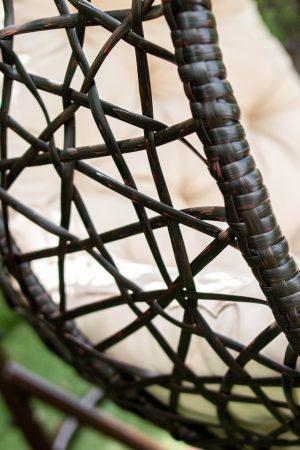 плетення на качелі коконі АртВуд