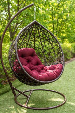 крісло кокон з штучного ротангу ціна дешево