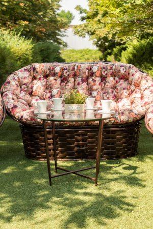 мебель для зоны отдыха в саду