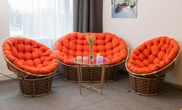 Комплекти плетених меблів з ротангу Фемелі люкс