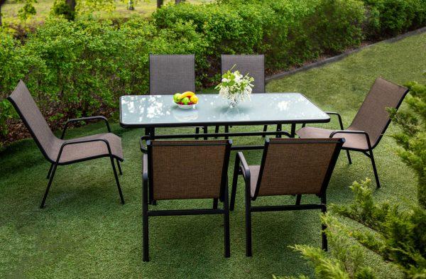 столовый комплект мебели Визаж для отдыха на улице