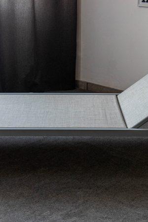 шезлонг из ткани текстилен