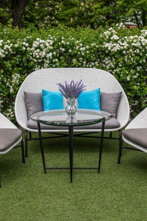 мебель из текстиленовой нити для улицы