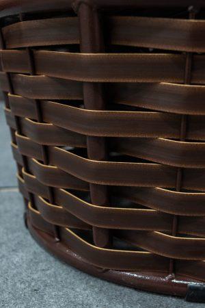 плетение на кресле папасан люкс