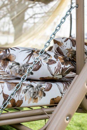 Механизм раскладки качели с сварной сеткой